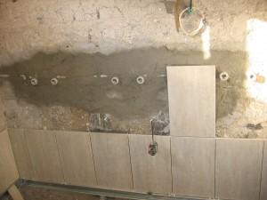 ремонт на баня през зимата